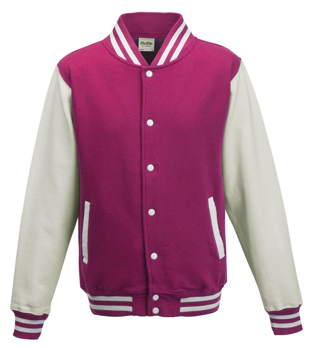 JH043 Hot Pink - White
