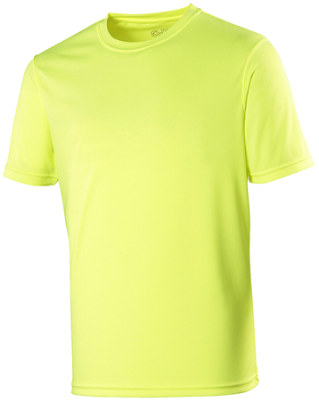 AWDis Just Cool Sportshirt JC001 Fluor Yellow