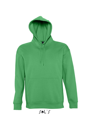 Sols Slam Unisex Hooded Sweater Kelly Green