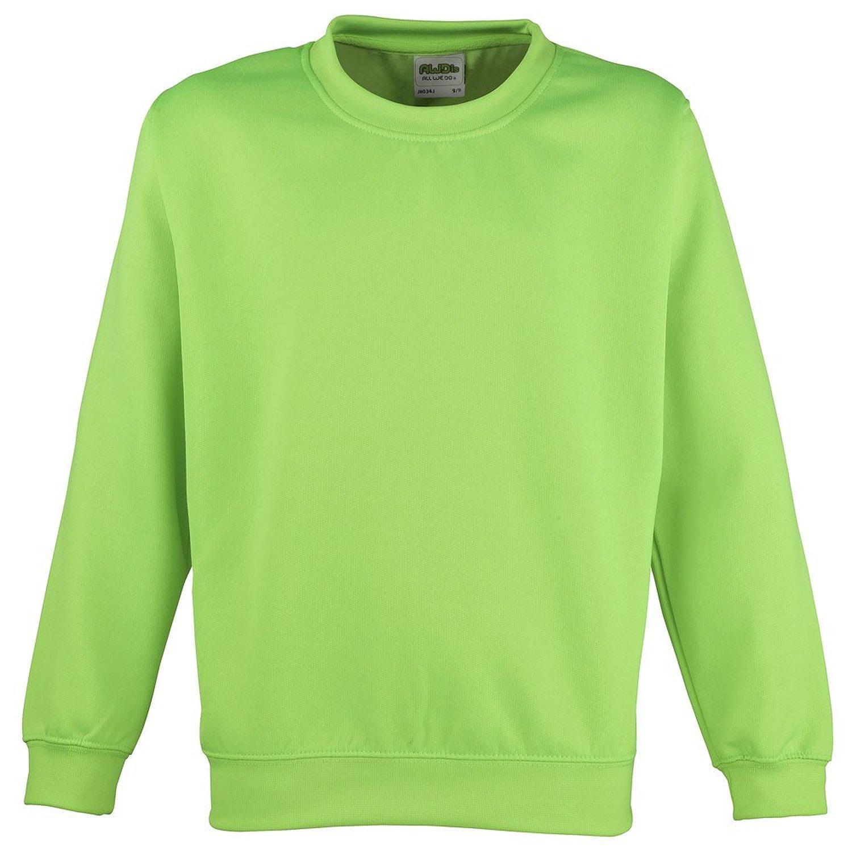 AWDis Electric Sweater green