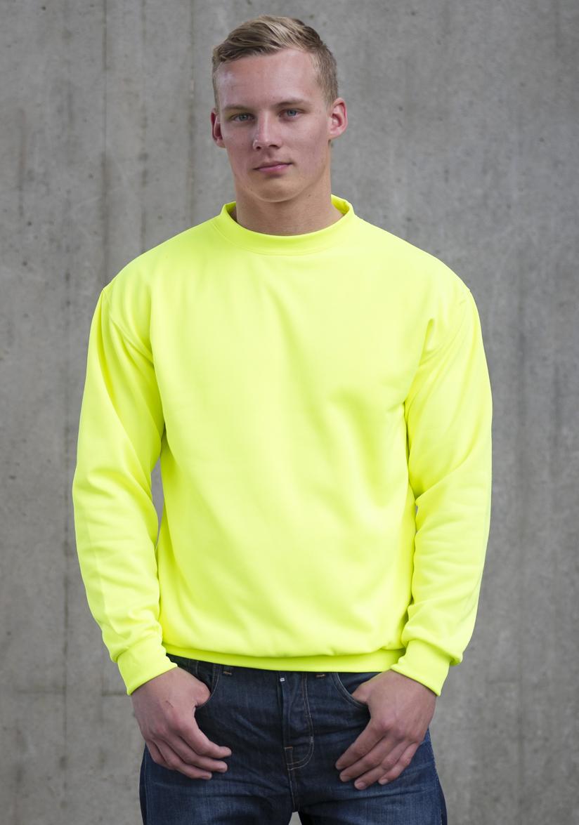 AWDis Electric Sweater JH034 Electric Yellow