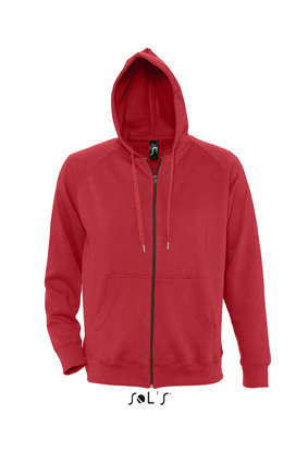 Sols Story Zip Hooded sweater Red