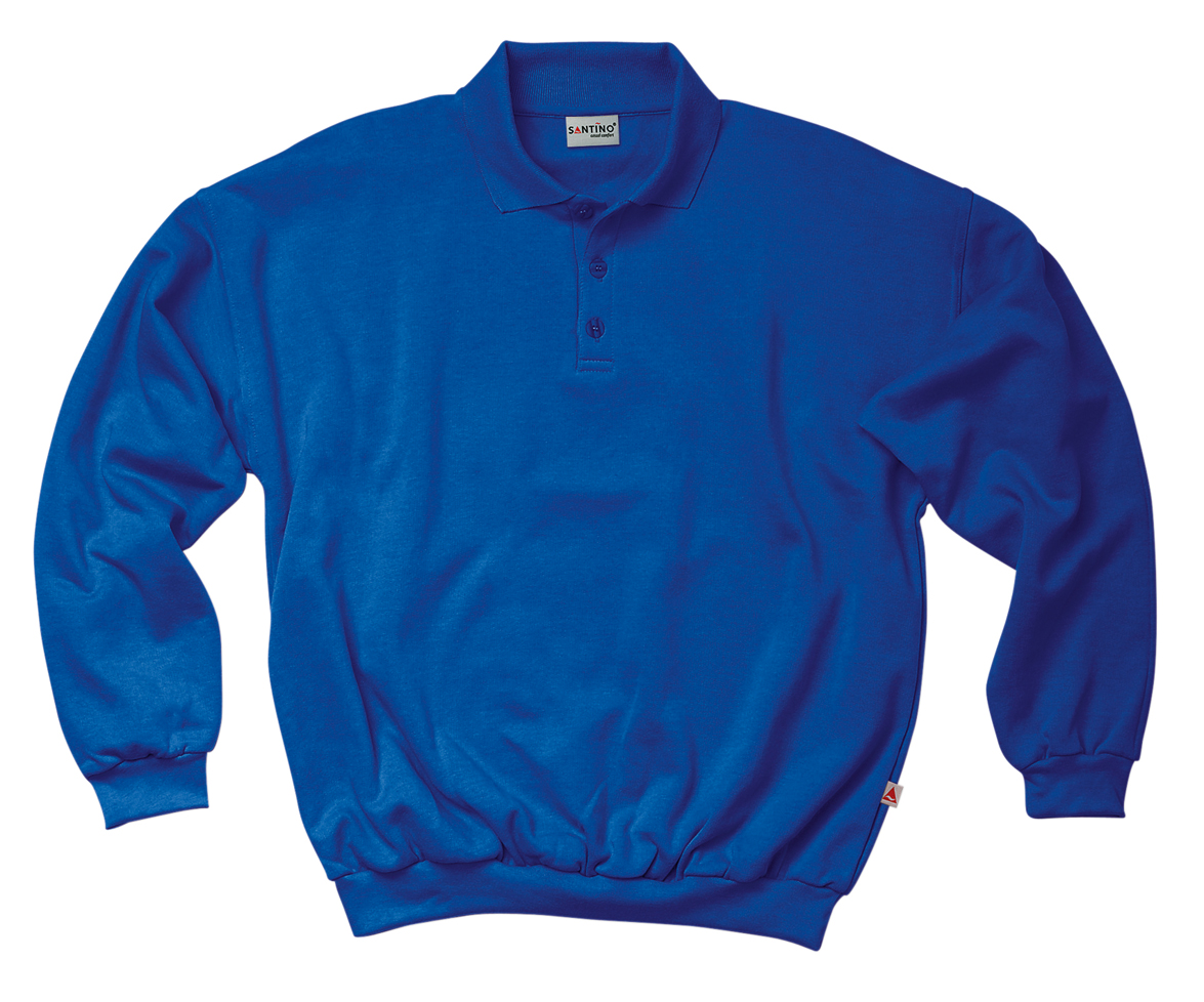 Santino Polo sweater Robin Kobalt