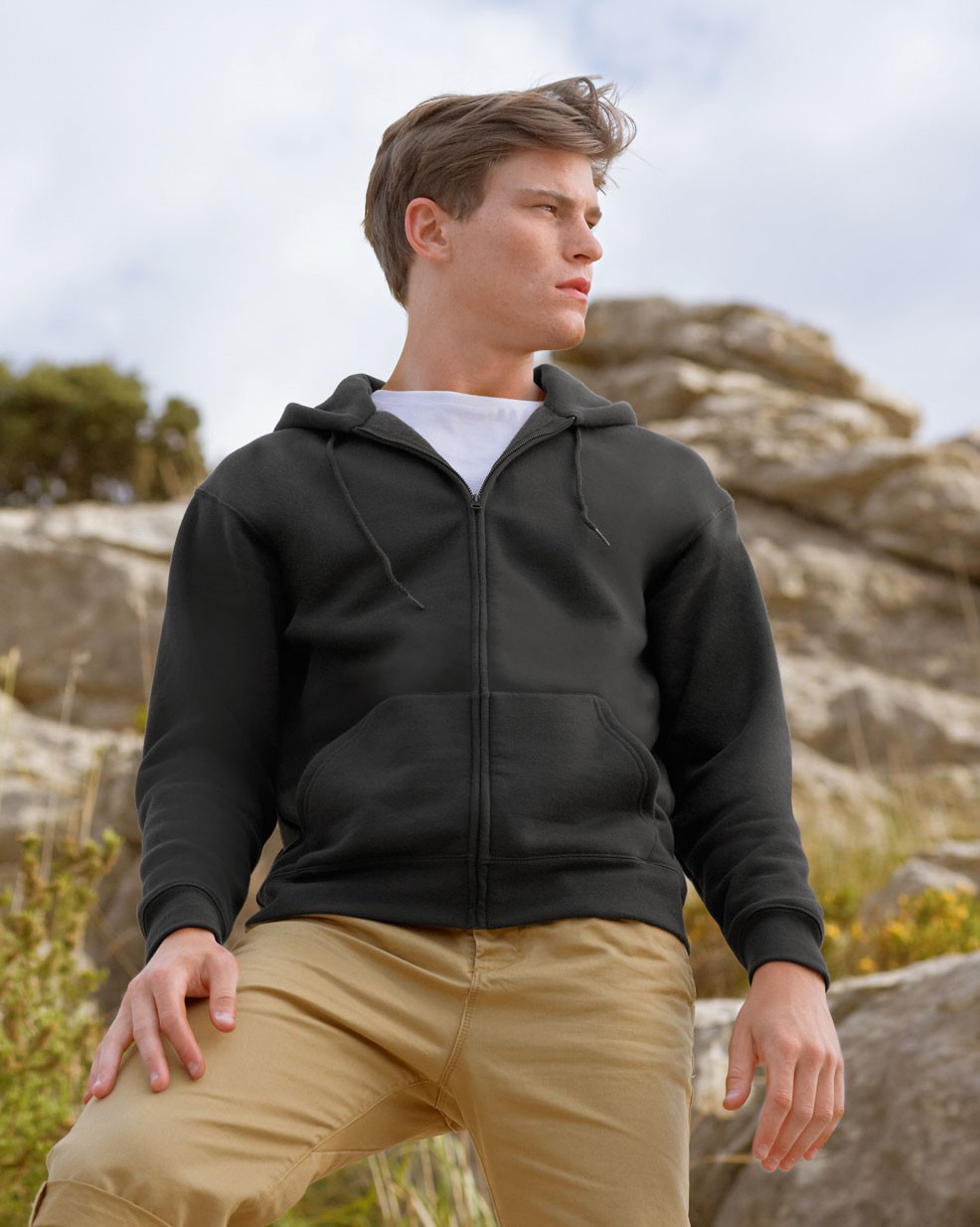 Fruit of the Loom Zip hoodie sweatshirt SC361C