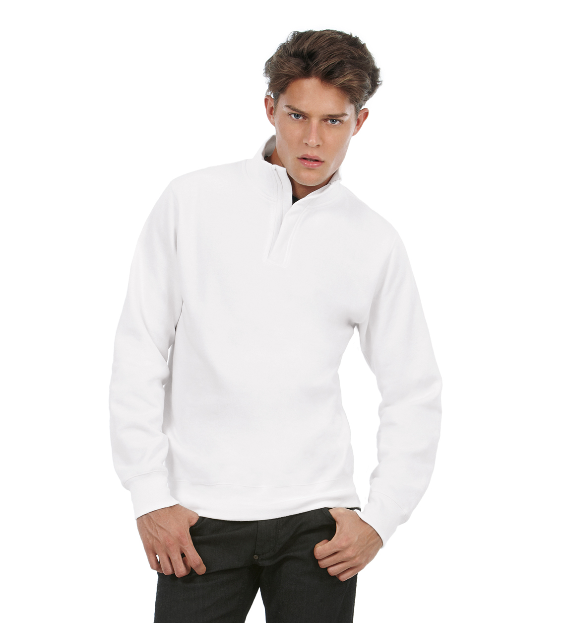 BC Sweater met hoge kraag sfeerfoto