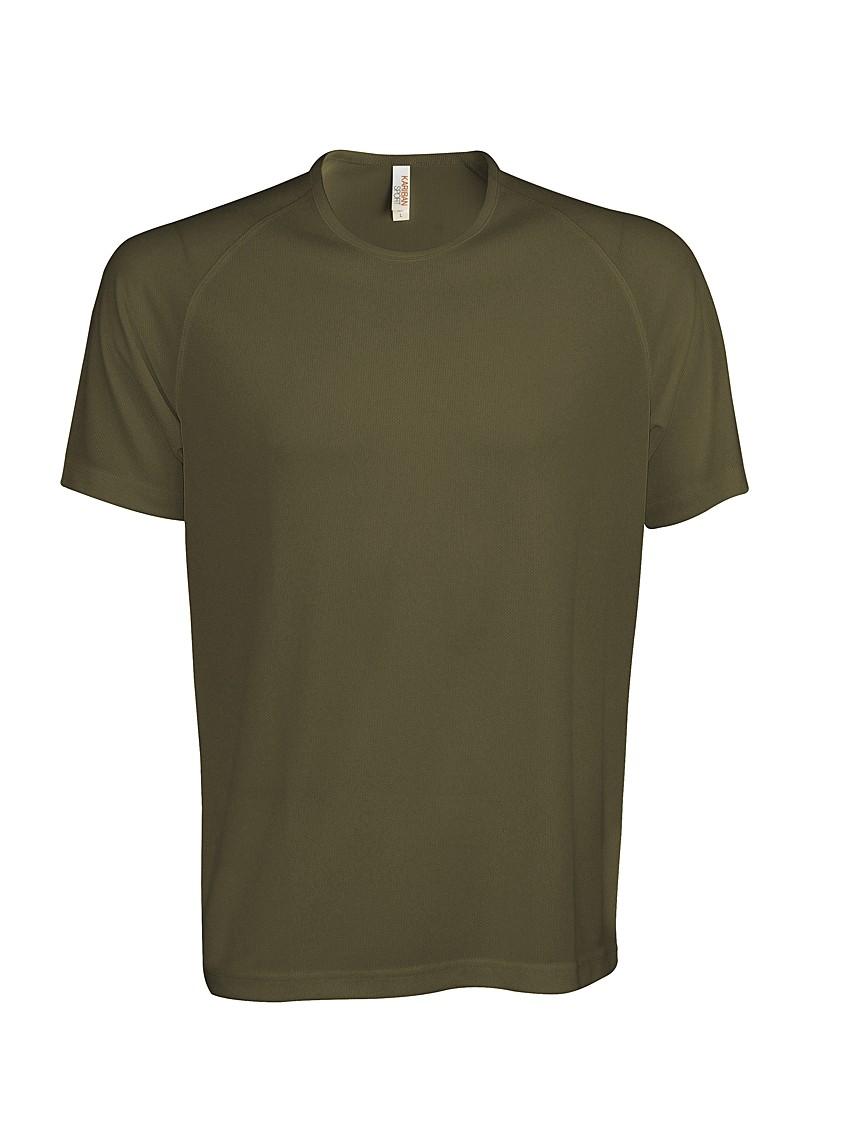 Heren Sport T-shirt KS017 Olive