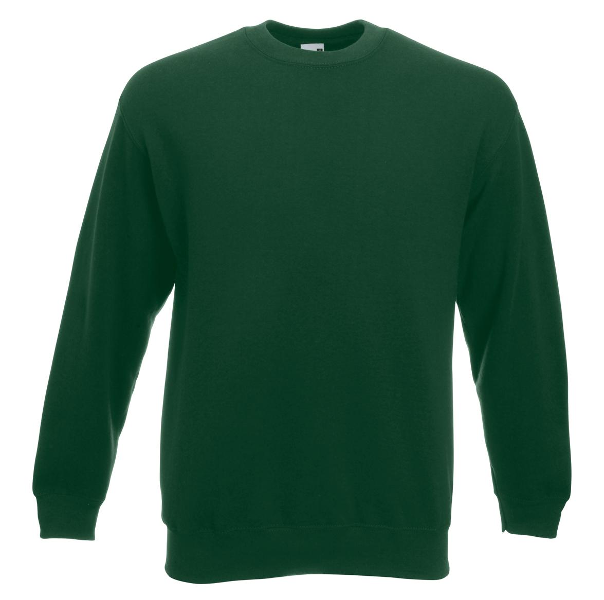 Fruit of the Loom Set-In Sweater 622020 Bottle Green