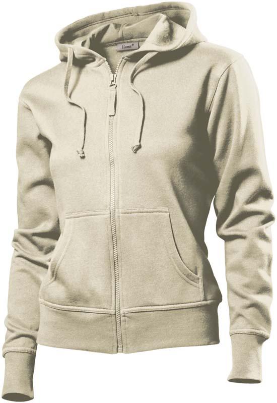 Hanes Spicy dames hoodie 6510 Beige