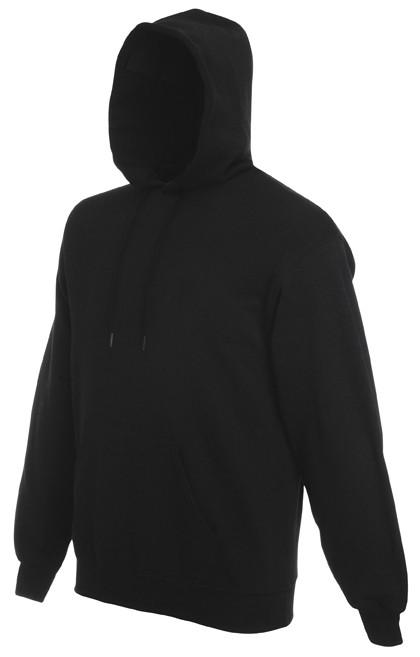 Fruit of the Loom hoodie sweater SC244C Black