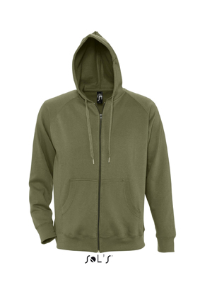 Sols Story Zip Hooded sweater Army
