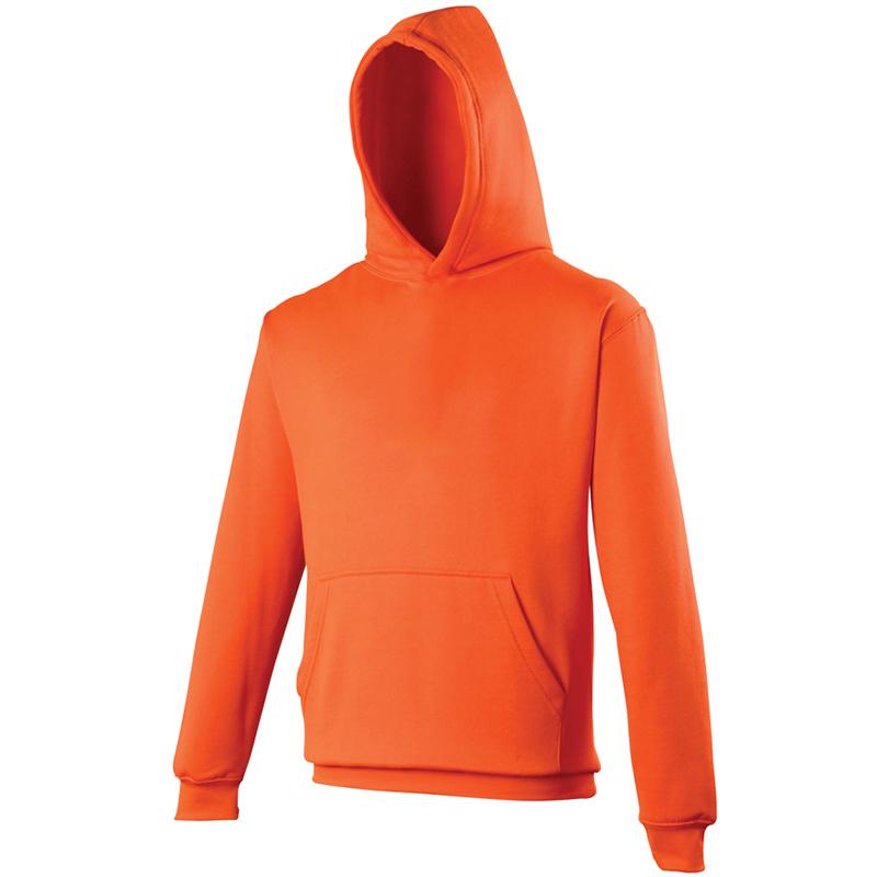 AWDis Kids electric hoodie kind orange