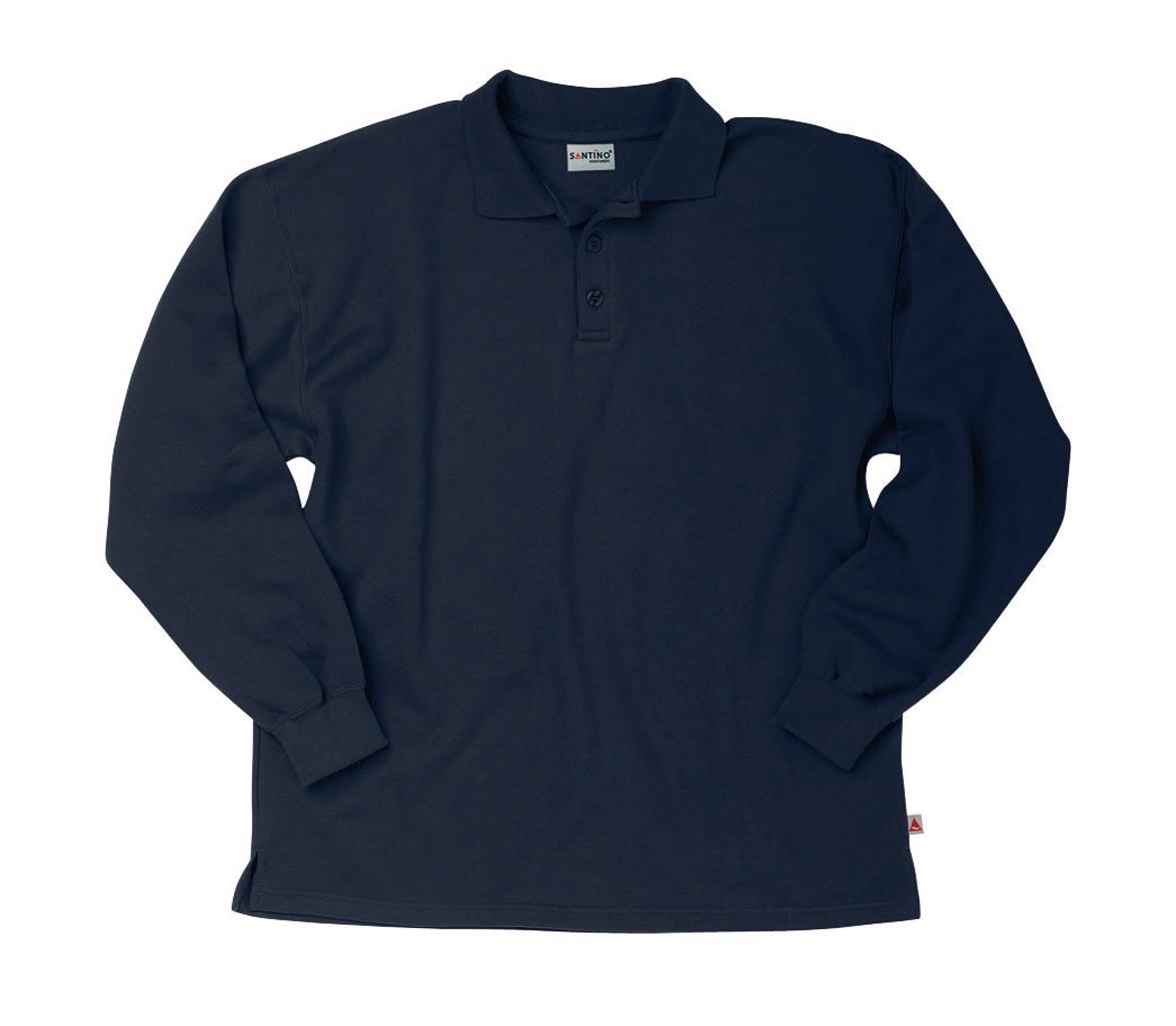 Santino Polosweater Rick Marine