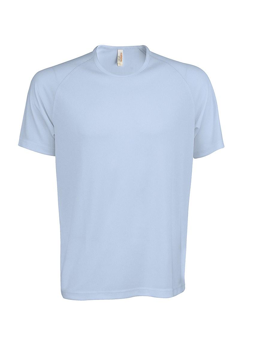 Heren Sport T-shirt KS017 Sky Blue
