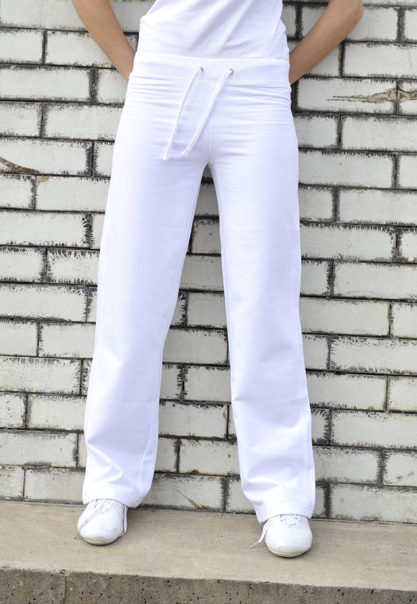 AWDis Girlie Joggingbroek JH075 Arctic White