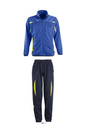 Sols Camp Nou Kids Royal Blue - Lemon