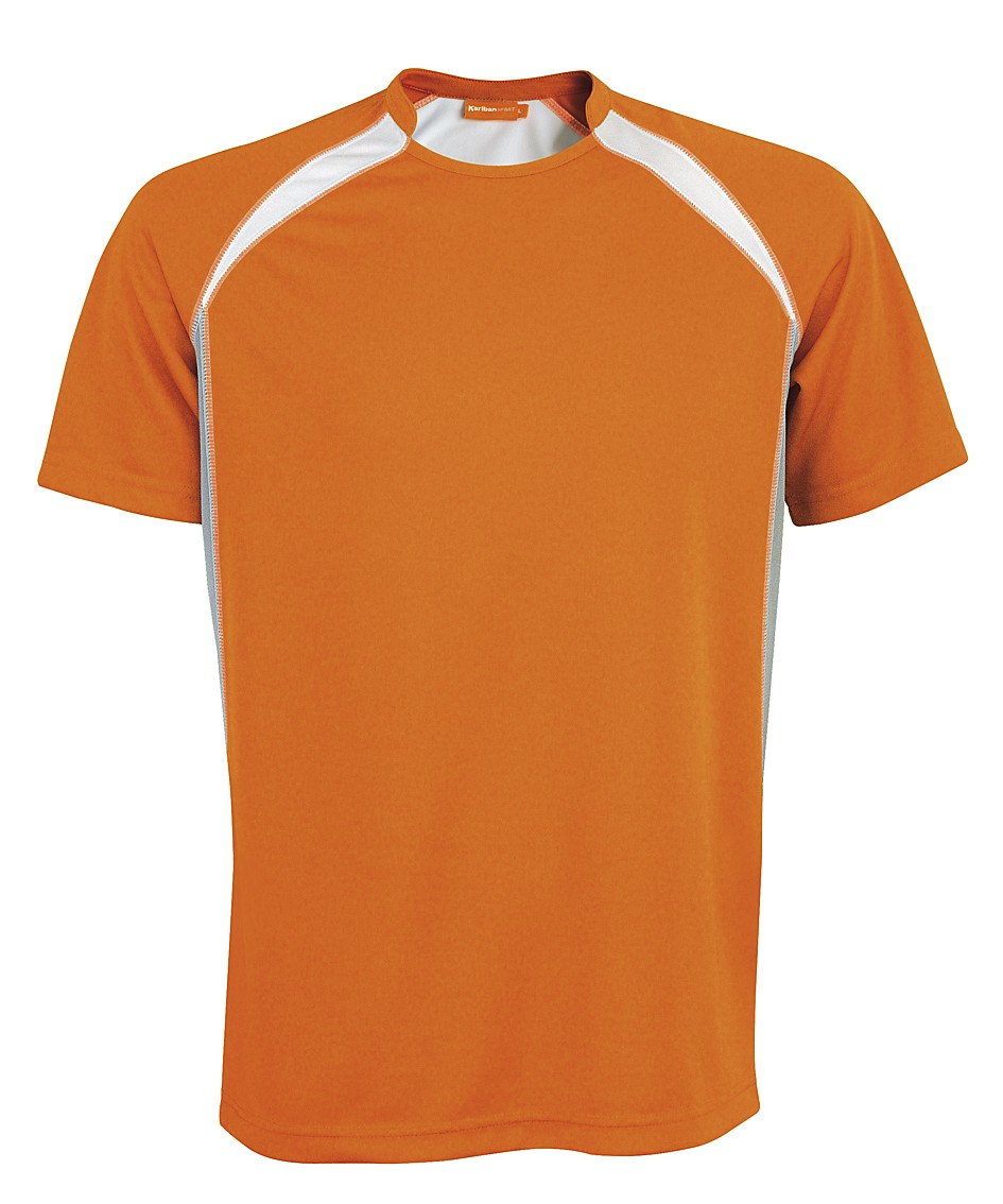 Kariban Sportshirt Breathing KS01 Orange - White