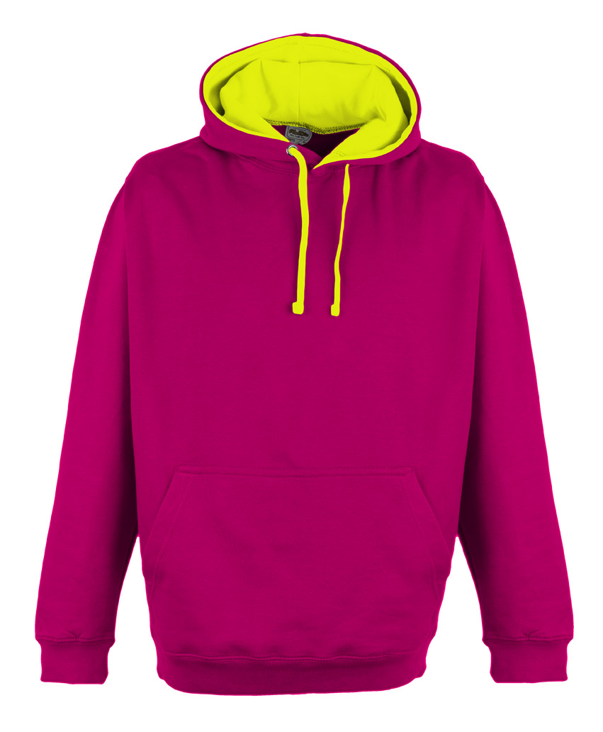 JH013 Hot Pink - Electric Yellow