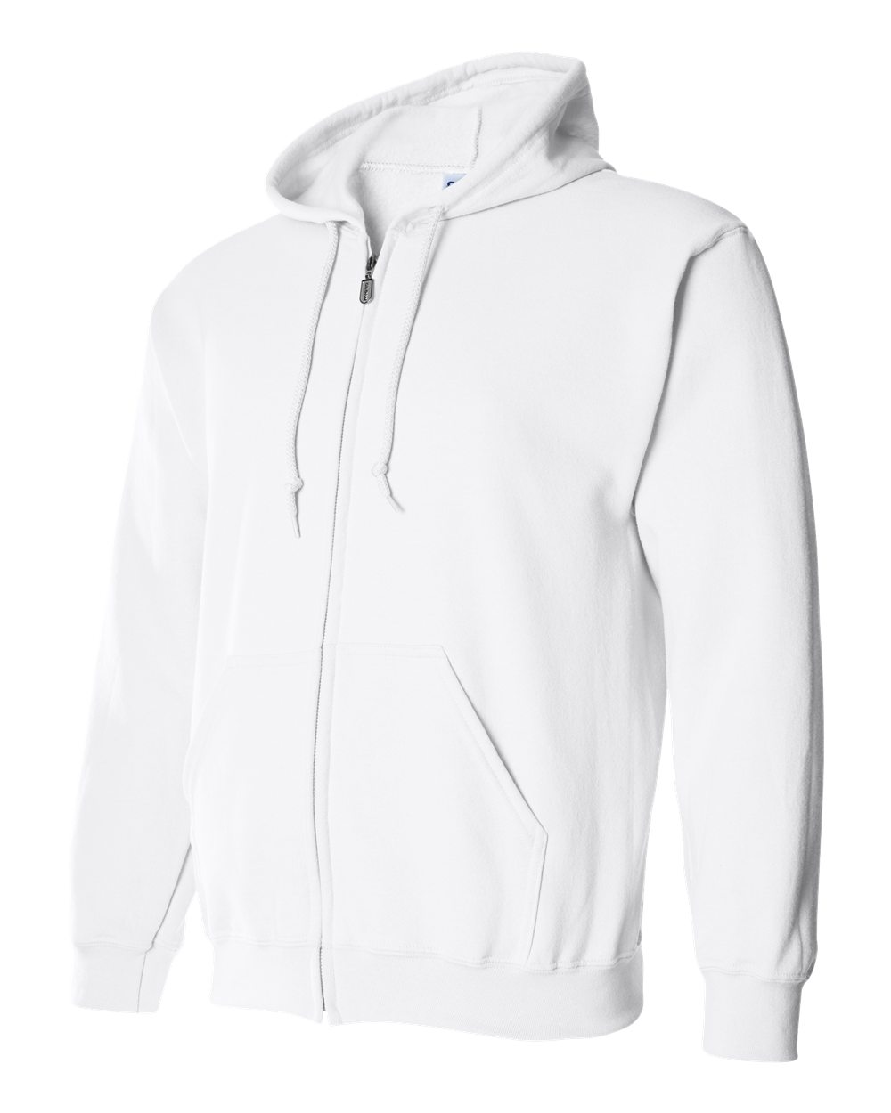 Gildan Heavy Blend Full Zip Hoodie GIL18600 White