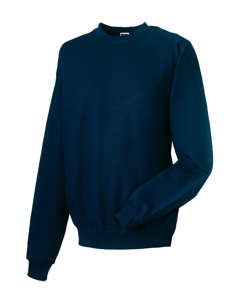 Russell Gold Label Set-in Sweater RU162MC French Navy
