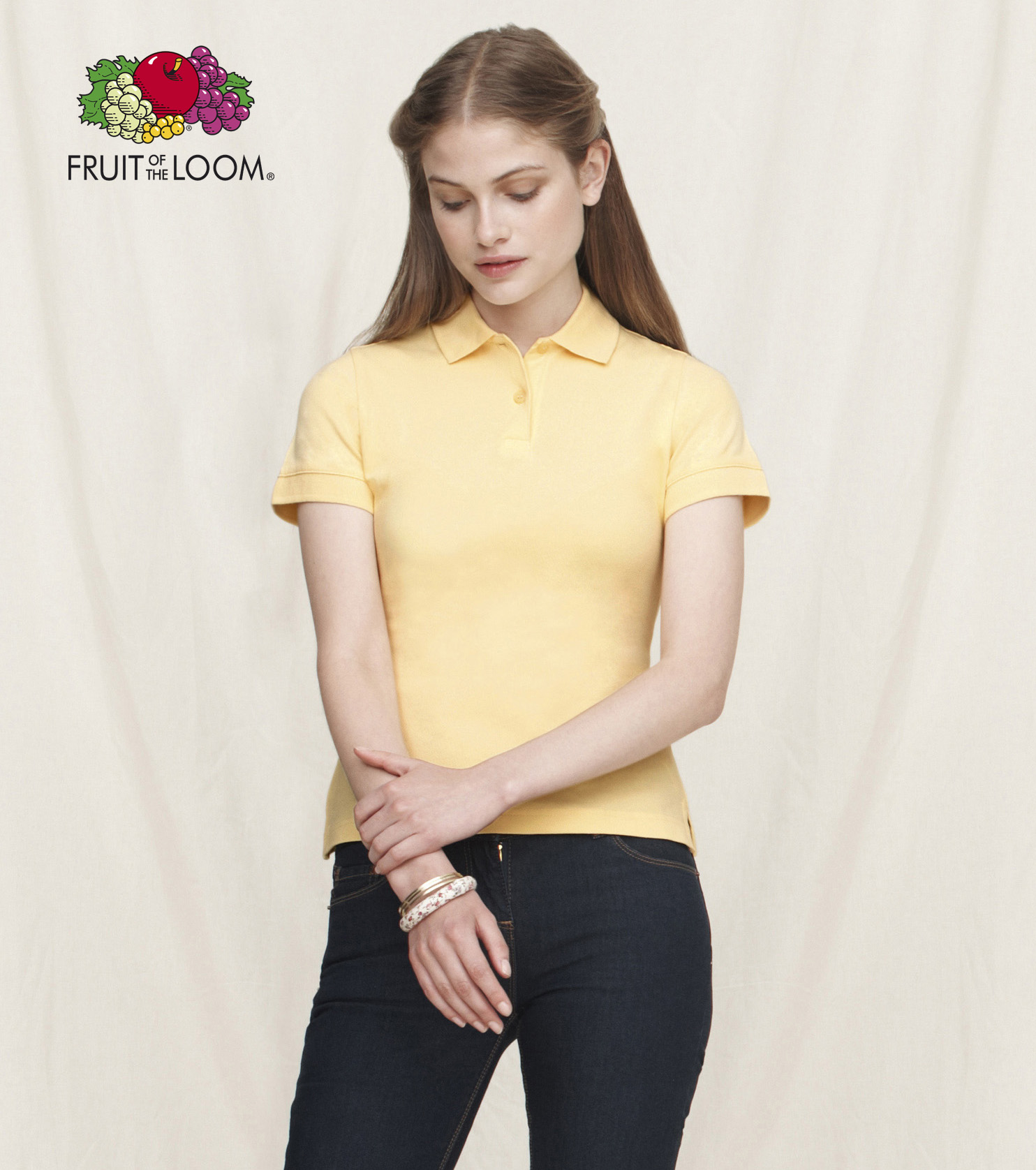 SC63560 Ladies Polo Yellow