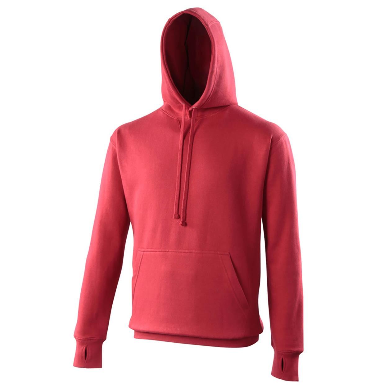 AWDis Hoods Street hoodie rood