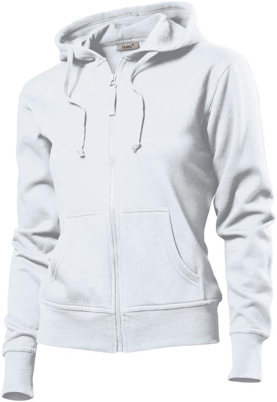 Hanes Spicy dames hoodie 6510 White
