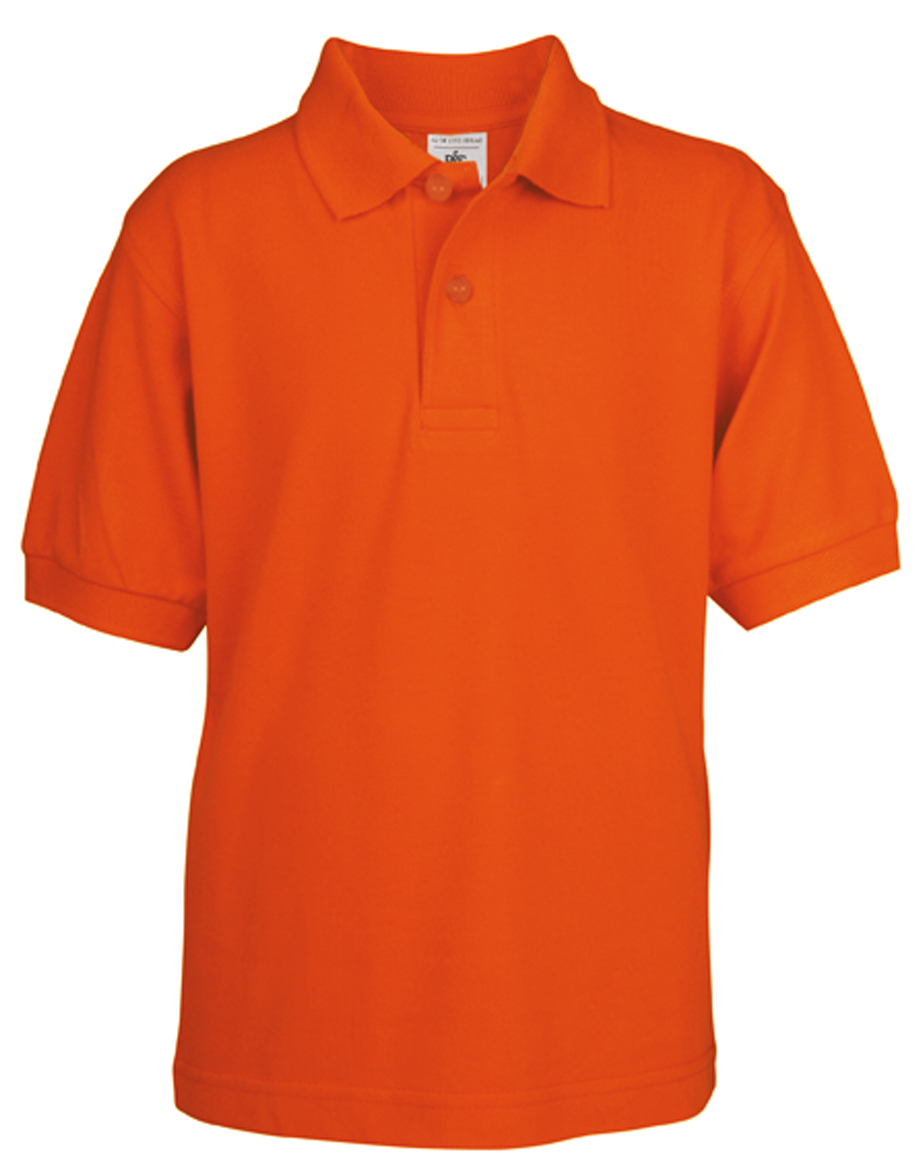 Kids Polo Safran Pumpkin Orange