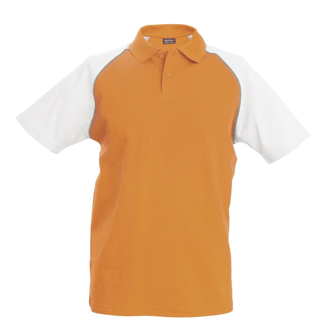 K226 Orange - White