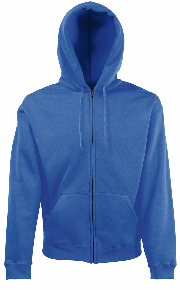 Fruit of the Loom Hooded Jacket 620620 Royal Blue