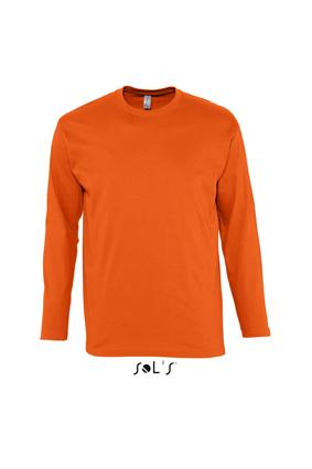 Sols heren T-shirt met lange mouwen Monarch