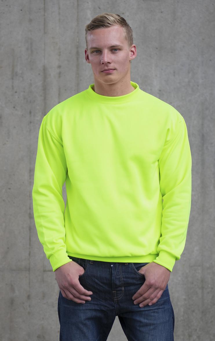 AWDis Electric Sweater JH034 Electric Green