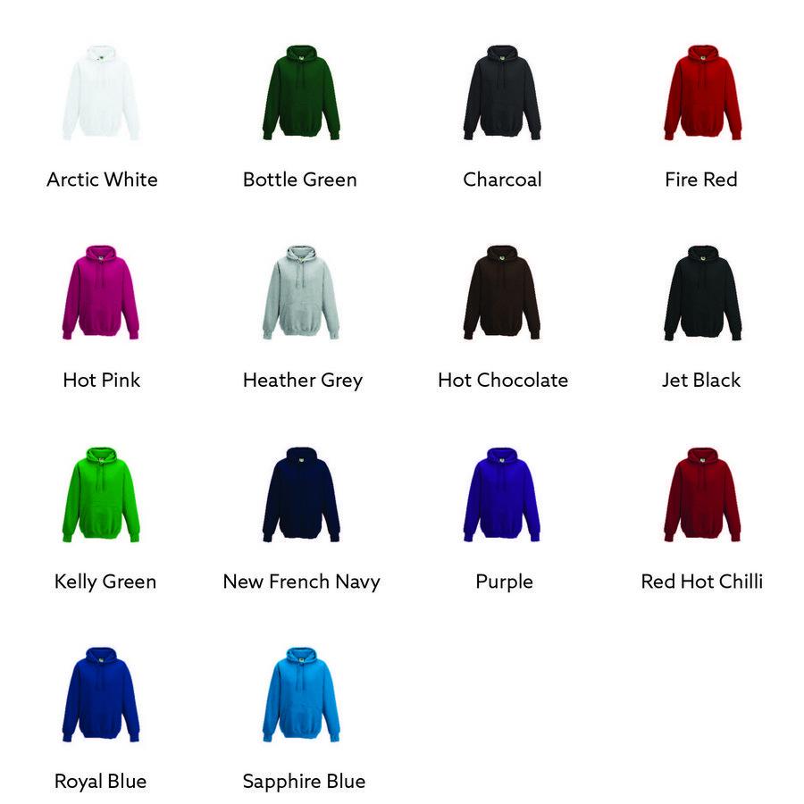 AWDis Hoods Street hoodie JH020 alle kleuren