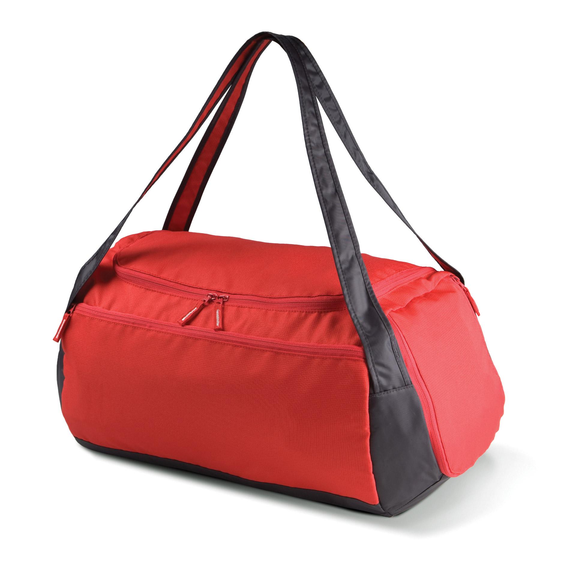 sporttas ki0602 rood / donkergrijs