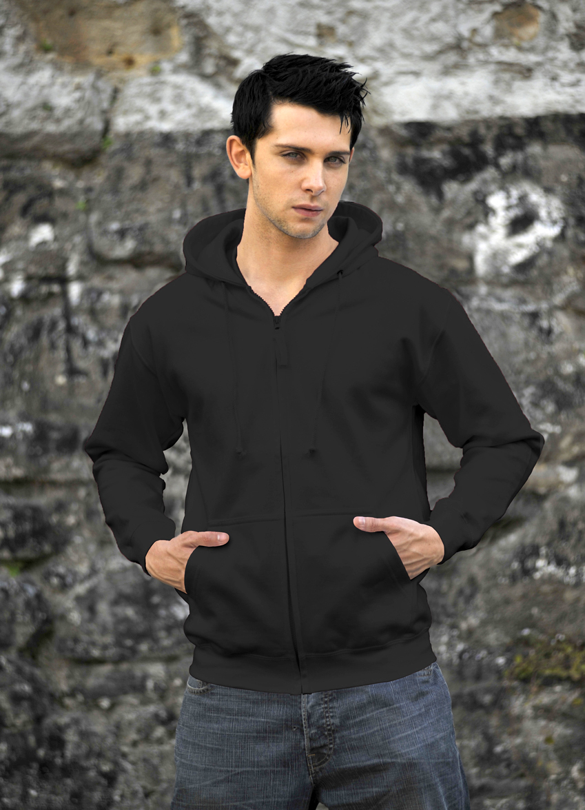 AWDis Zoodie JH050 hoodie Charcoal