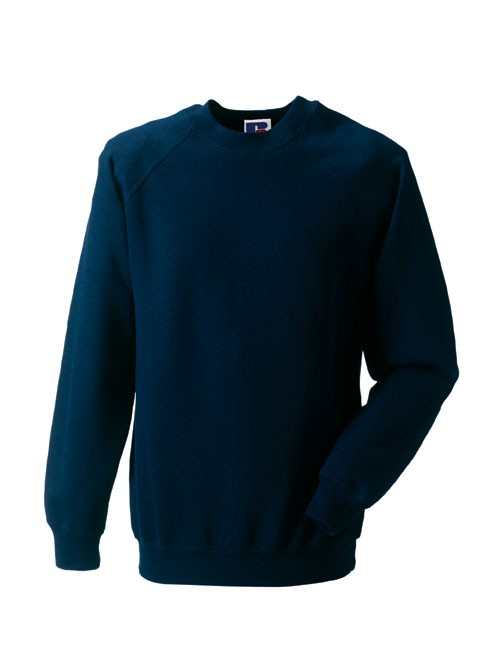Russell Raglan Sleeve Sweater RU7620M Frensch Navy