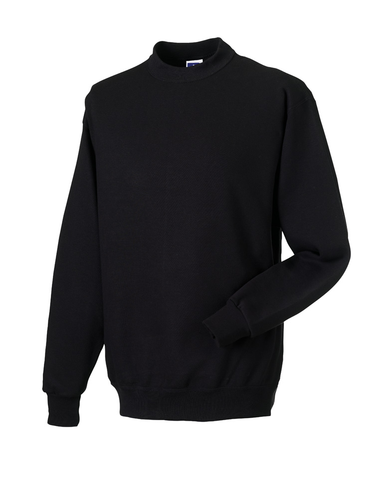 Russell Gold Label Set-in Sweater RU162MC Black