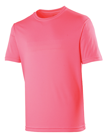 AWDis Just Cool Sportshirt JC001 Fluor Pink