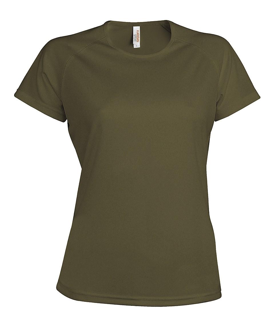 Heren Sport T-shirt KS030 Olive
