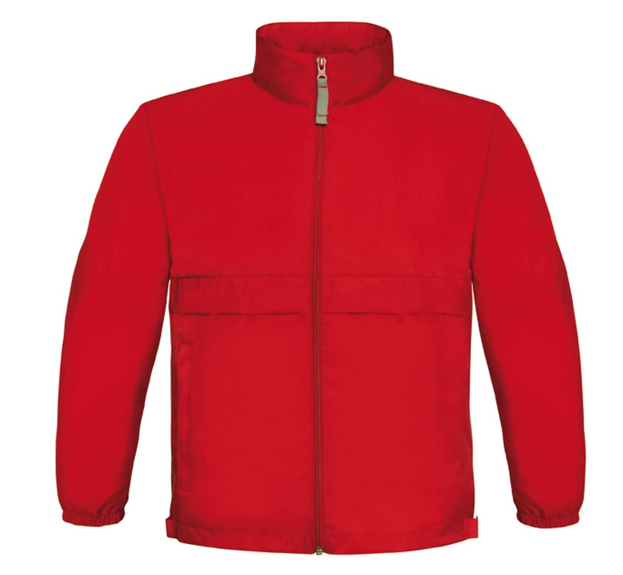 Sirocco Windbreaker Red