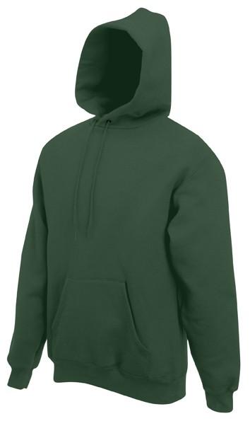 Fruit of the Loom hoodie sweater SC244C Bottle Green