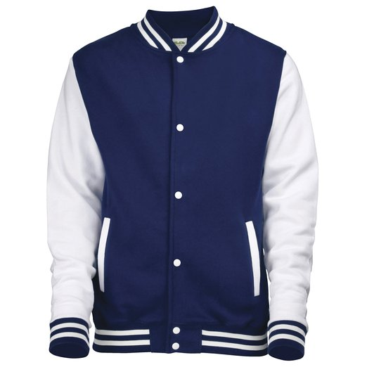 blauwe jas