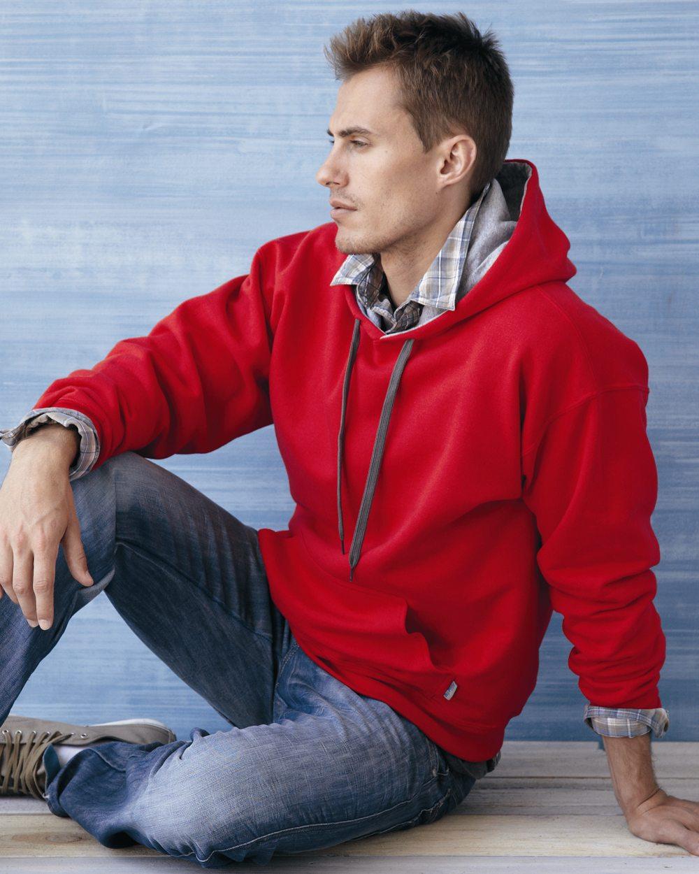 Gildan Heavy Blend Contrasted Hooded Sweatshirt