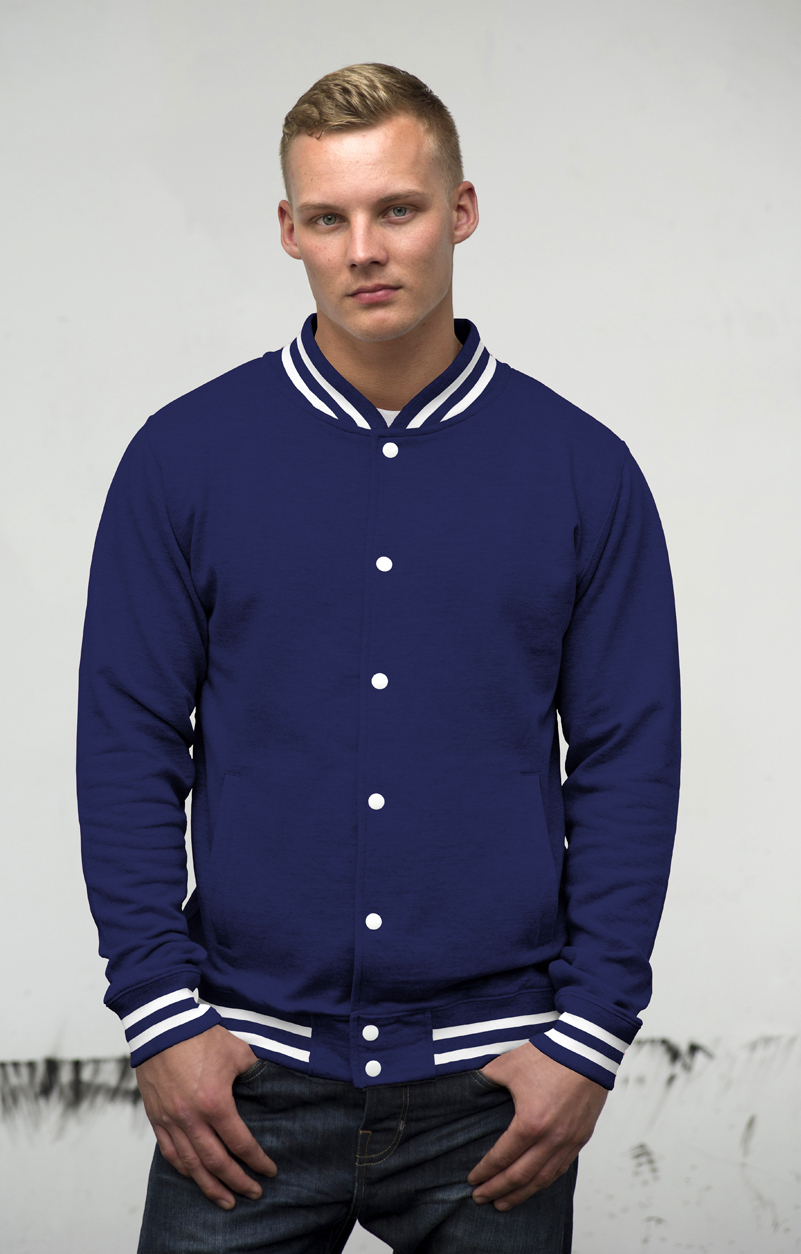 AWDis College Jacket JH041 Oxford Navy
