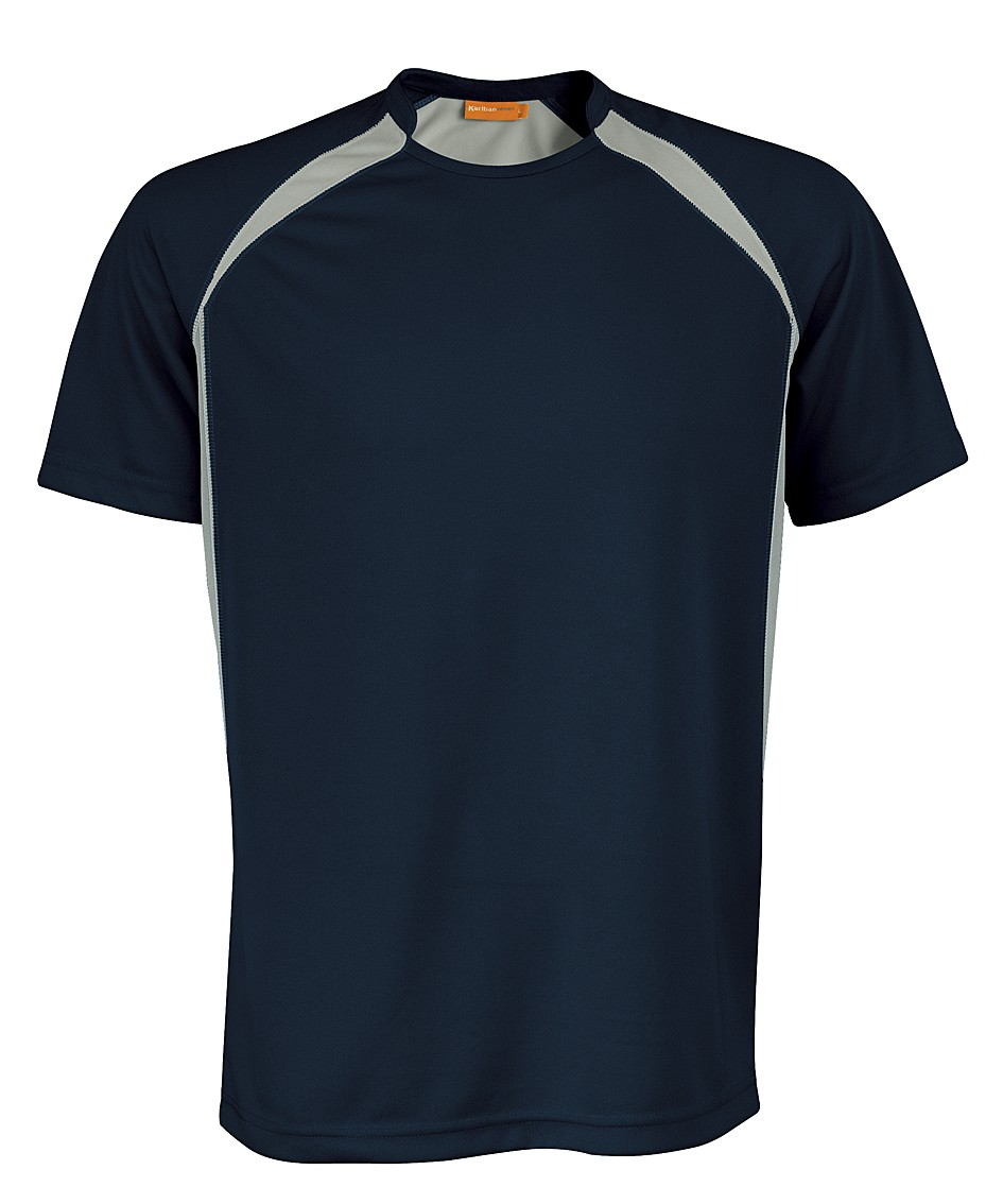 Kariban Sportshirt Breathing KS01 Navy - Grey