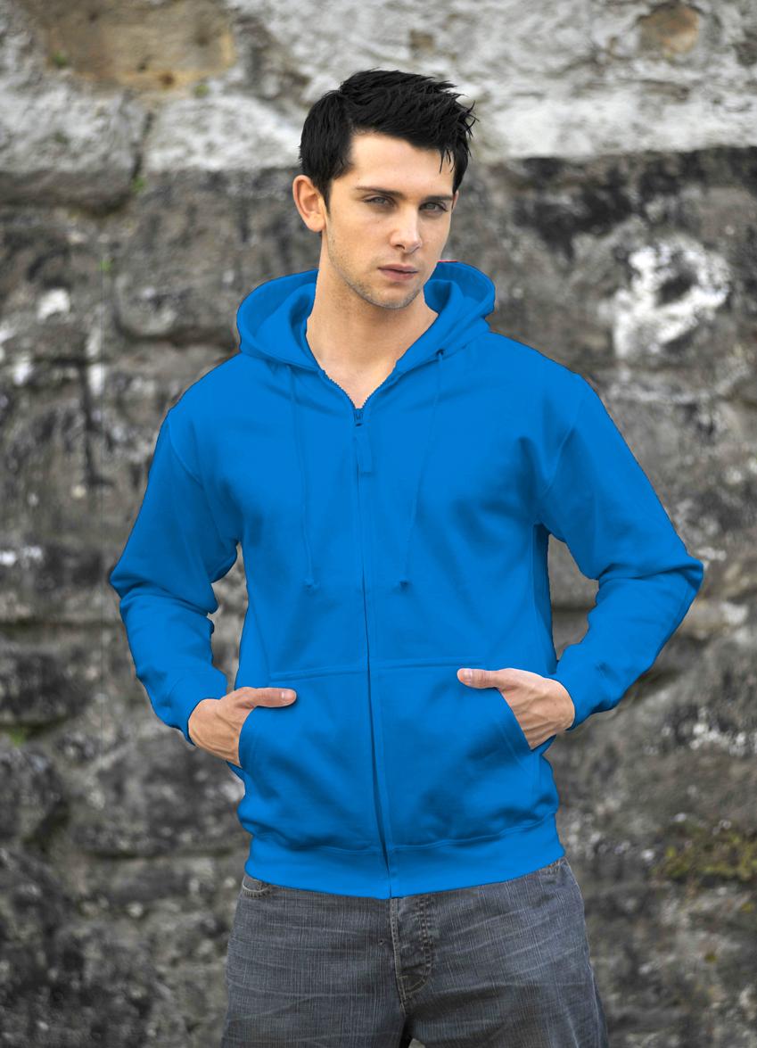 AWDis Zoodie JH050 hoodie Sapphire Blue