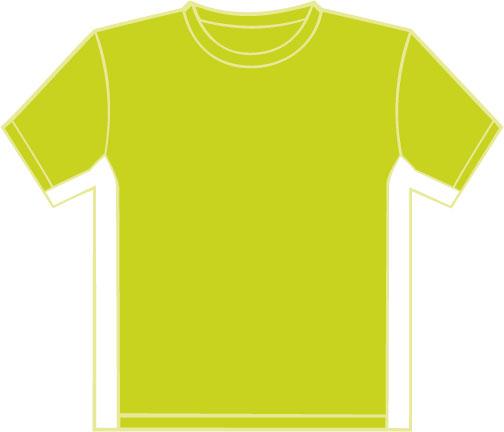 K340 Lime - White
