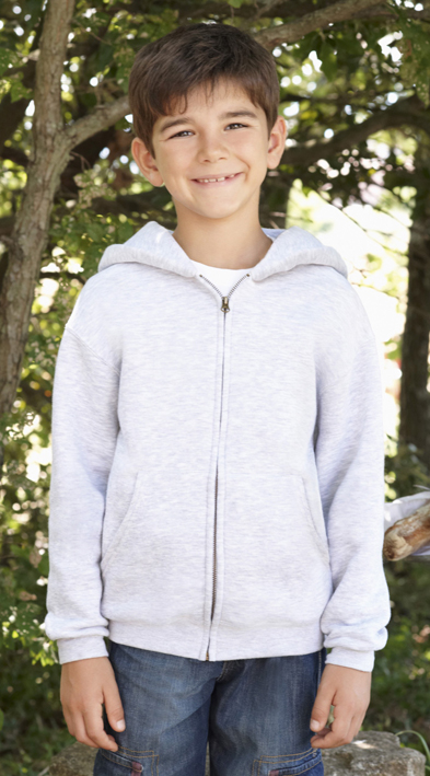 Fruit of the Loom Kids Zip Hoodie Sweater Foto 2
