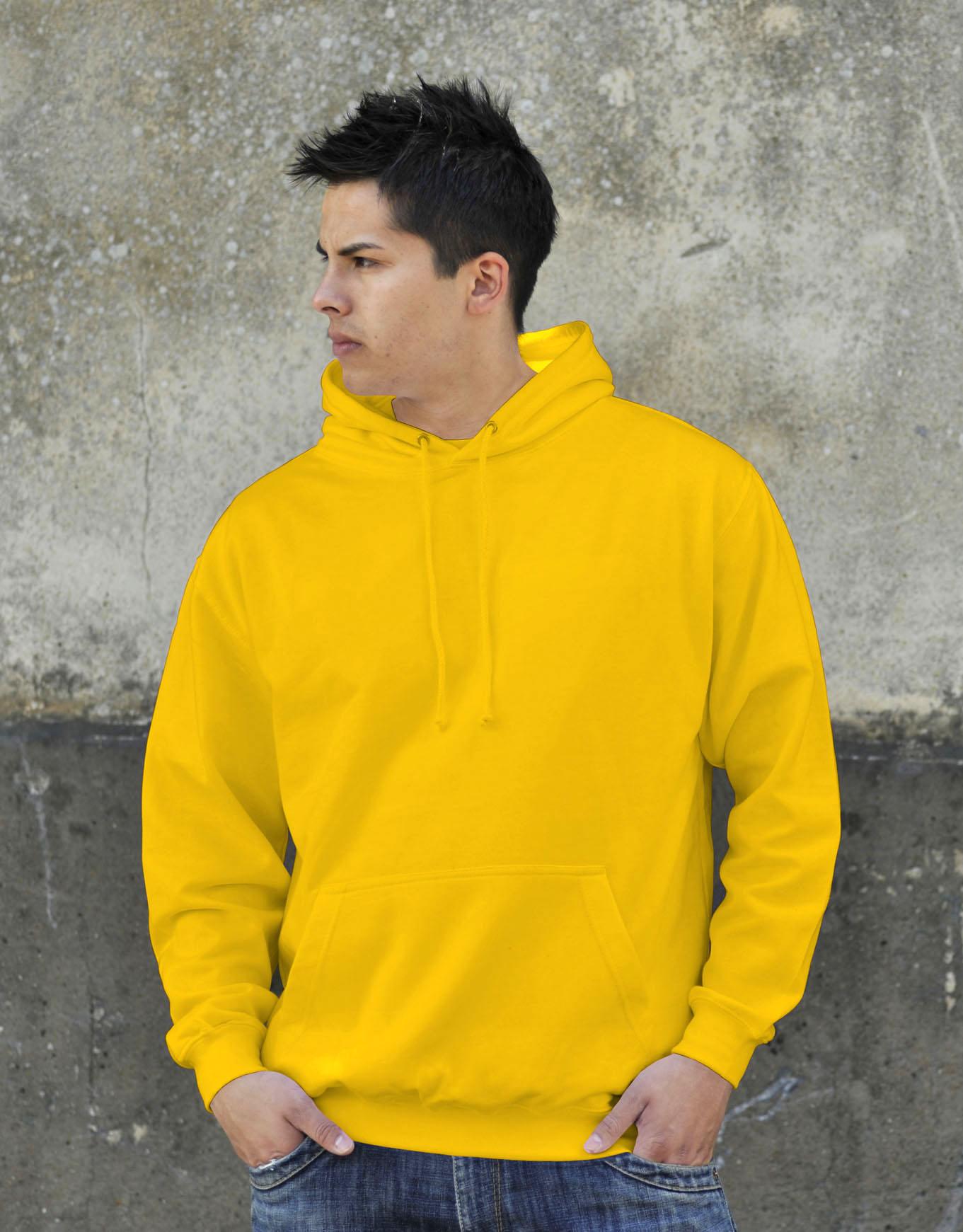 AWDis College Hoodie Sun Yellow
