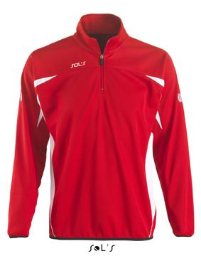 Sols Bernabeu Sweater Red - White