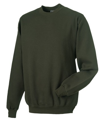 Russell Set-in Sleeve Sweatshirt RU262M Combat Khaki